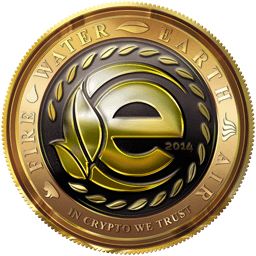 Logotype for EarthCoin