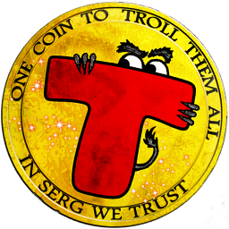 Logotype for Trollcoin