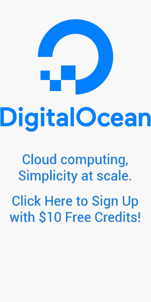 DigitalOcean Servers - Sign up with Free $10 Credits